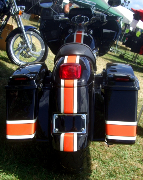 2005 V-Rod Custom Bagger 19.